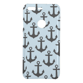 Blue Anchor Google Pixel Clearly™ Case