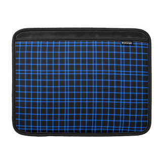 Blue and Black Tiles Pattern Sleeve For MacBook Air