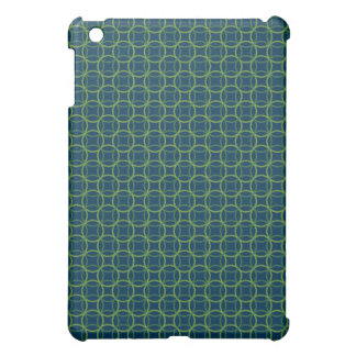 Blue and Green Modern Circle Pern Cover For The iPad Mini