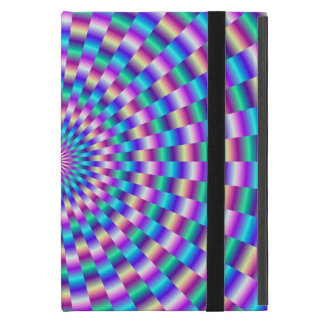 Blue and Pink Circular Links Case For iPad Mini