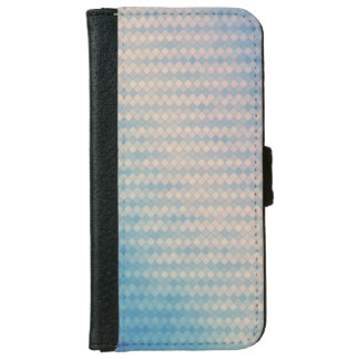 Blue and Pink Diamond Wallet Phone Case