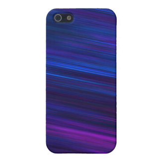 Blue and purple glowing night iPhone 5 covers