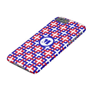 Blue and Red Squares iPhone 6 Case