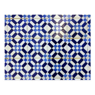 Blue and White Azulejo Post Cards