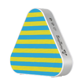 Blue and Yellow Horizontal Stripes