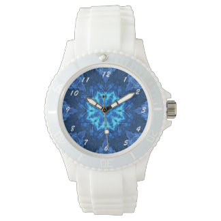 Blue Batik Watch