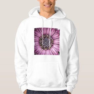 Blue Bell Tunicate Centered with antique filter Hoodie