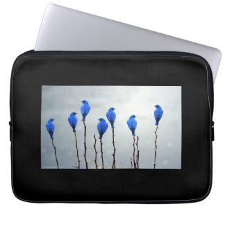 Blue Birds Neoprene Laptop Sleeve 13 inch