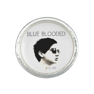 Blue Blooded Ring