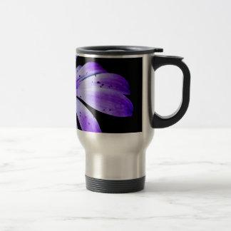 Blue Bloom Travel Mug