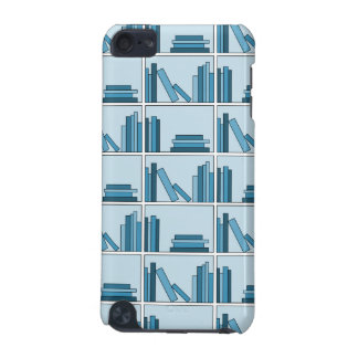 Blue Books on Shelf. iPod Touch 5G Covers