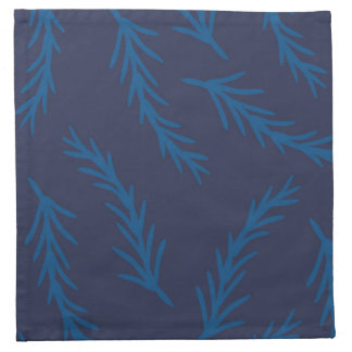 Blue Branches Cloth Napkin