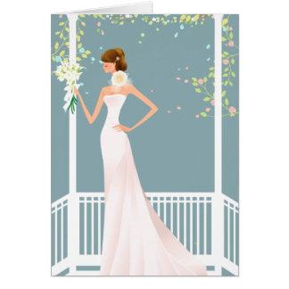 Blue Bridal Shower Invitation Cards