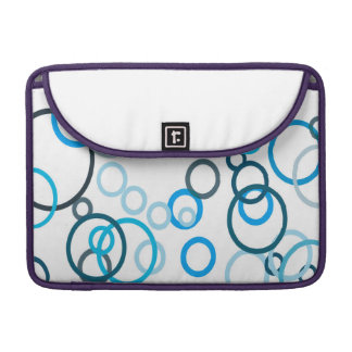 Blue Bubbles Sleeves For MacBook Pro