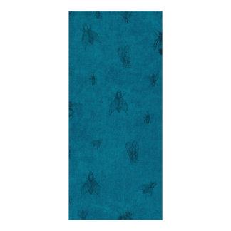 Blue Bug Background Rack Card