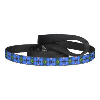 Blue Butterfly Dog Leash