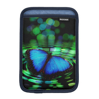 Blue Butterfly iPad Mini Vertical Sleeve Sleeve For iPad Mini