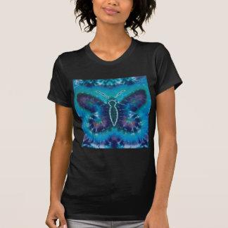 Blue Butterfly Tie Dye T Shirts