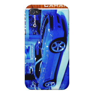 """""""Blue Camaro"""" © 2009 S.J. Case For The iPhone 4"""