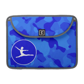 Blue Camo; Camouflage Ballet Sleeve For MacBooks