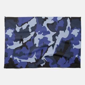 Blue Camo, Kitchen Towel