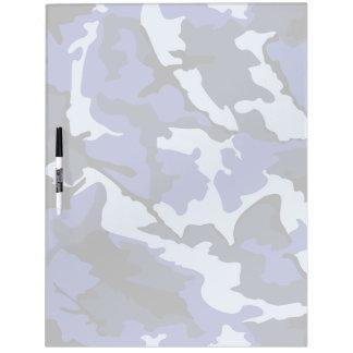 Blue Camo, Large Dry Erase Board