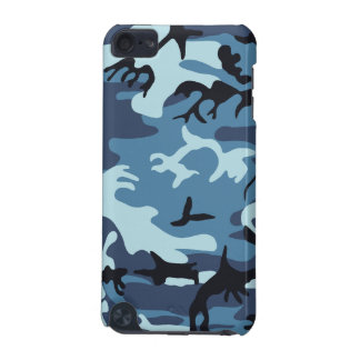 Blue Camouflage iPod Touch (5th Generation) Cover