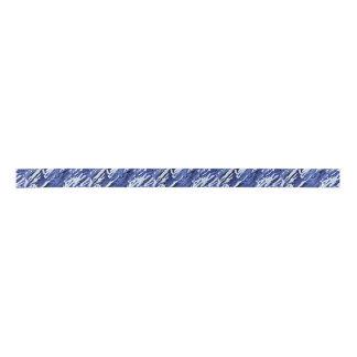 Blue Camouflage Ribbon Satin Ribbon