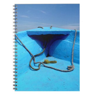 Blue Canoe with Rope Note Books