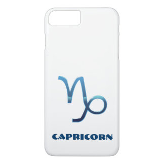 Blue Capricorn Zodiac Sign iPhone 8 Plus/7 Plus Case