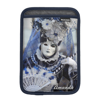 Blue Carnival Costume iPad Mini Sleeve