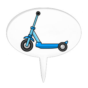 Scooter Cake Toppers   Zazzle.co.nz