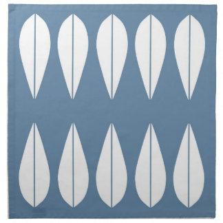 Blue Cathrineholm vintage style set of napkins. Napkin