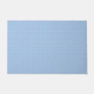 Blue Ceramic Tiles Look Doormat
