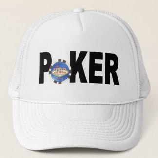 Blue Chip Las Vegas Poker Player Cap