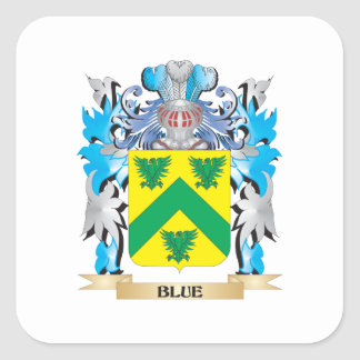 Blue Coat of Arms Sticker