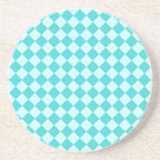 Blue Combination Diamond Pattern by Shirley Taylor Coaster