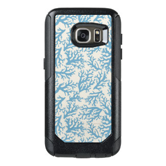 Blue Coral Pattern OtterBox Samsung Galaxy S7 Case