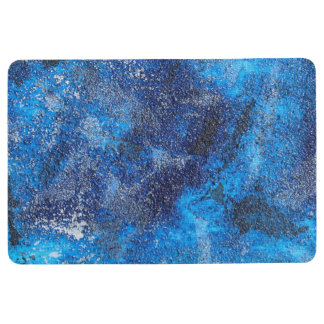 Blue Cosmos #1 Floor Mat