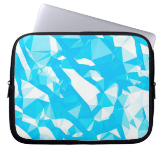 Blue Crystals Laptop Sleeve