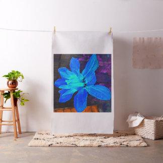 Blue Dahlia Fabric