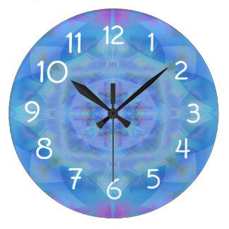 Blue Dancer Wall Clocks