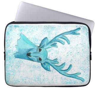 Blue Deer Laptop Sleeves