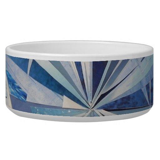 Blue diamond dog Pet Bowl Dog Water Bowls
