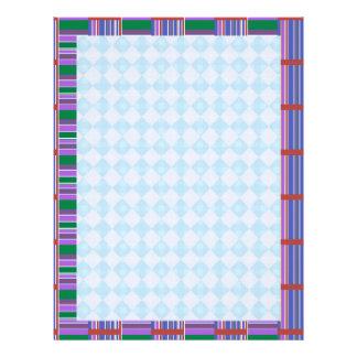 Blue Diamond  : Dream Love Letter LoveLett Customised Letterhead