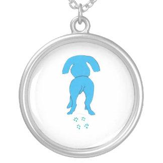 Blue Dog Necklace