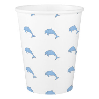 Blue Dolphins Party Supplies Paper Cup