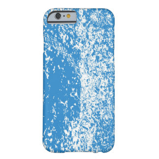 blue dots barely there iPhone 6 case