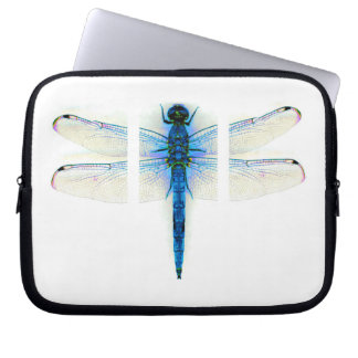 Blue Dragon fly Laptop Computer Sleeves