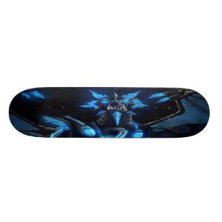 blue dragon skateboard deck